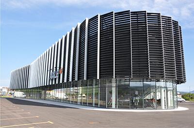 Alu Steklene Fasade Pi-Modul Oddelek