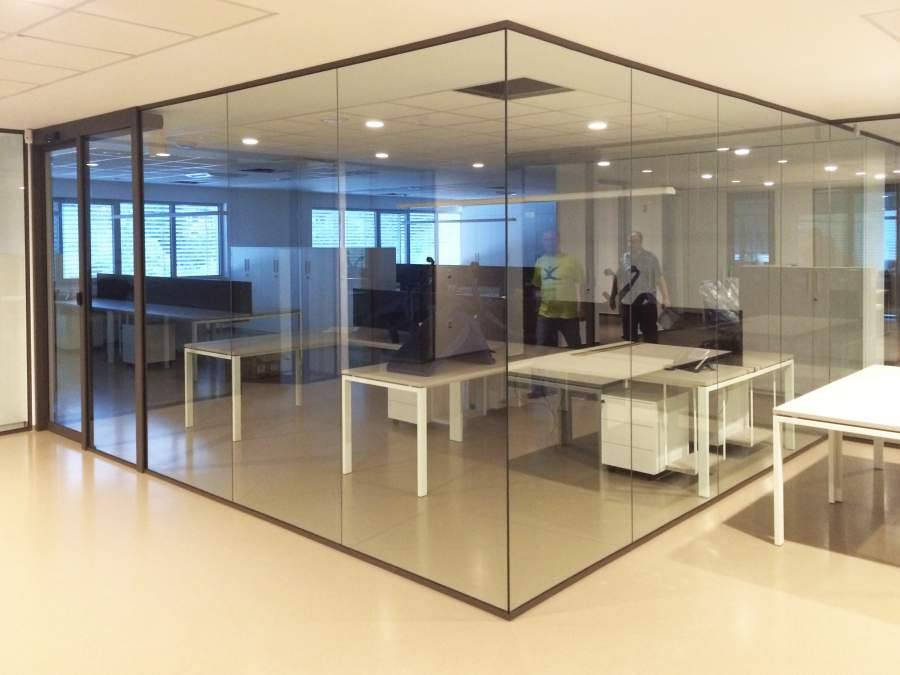 Aluminijaste Steklene Predelne Pregradne Stene 24 Pi-Modul