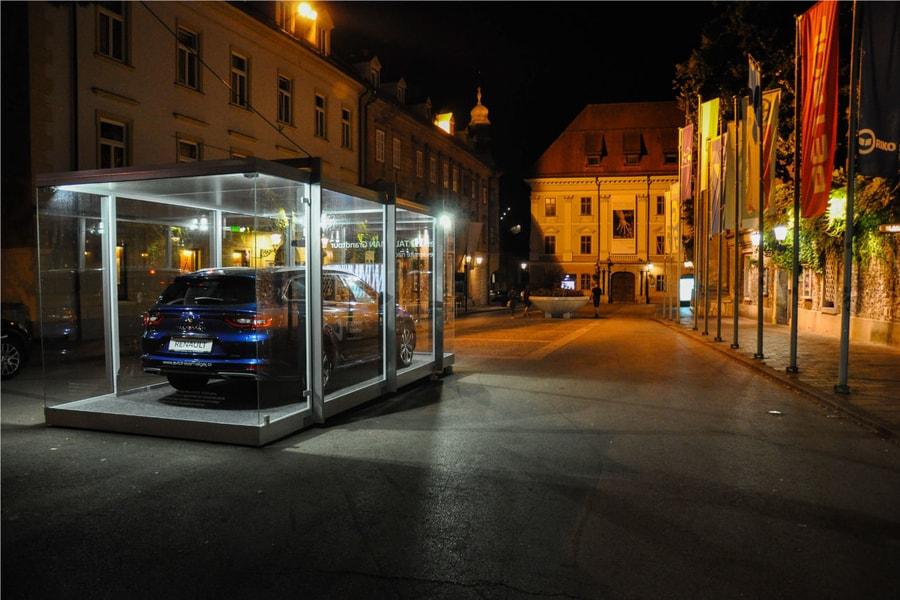 Razstavni Paviljon Nočna Slika 2 Pi-Modul