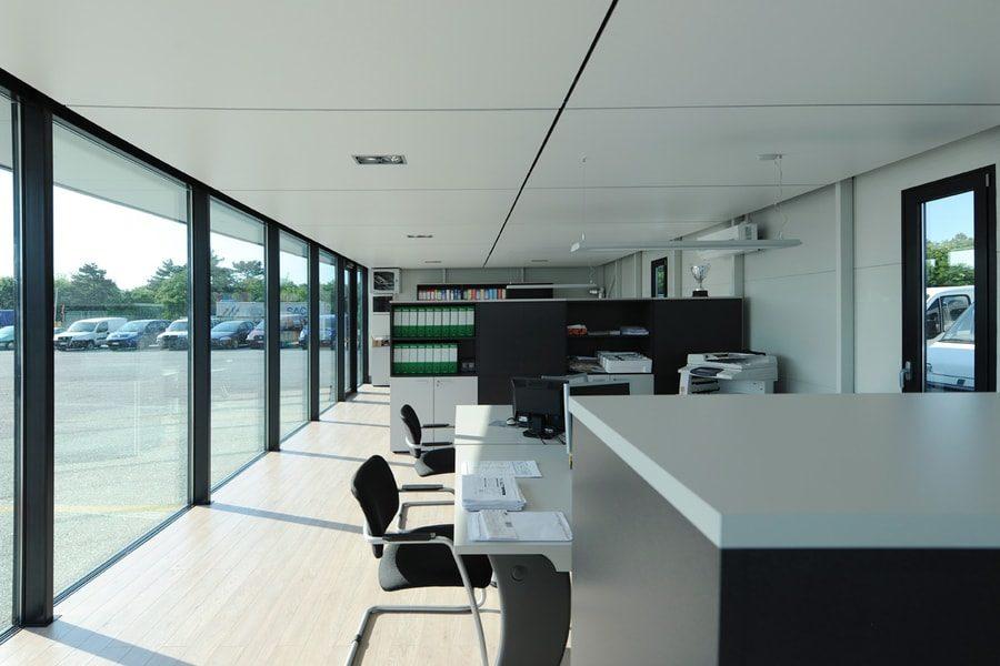 Poslovni Pisarniški Paviljoni Kontejnerji Pi-Modul