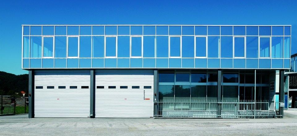 Aluminijasta Steklena Fasada 1 Pi-Modul