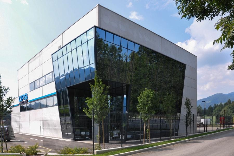 Aluminijasta Steklena Fasada 3 Pi-Modul