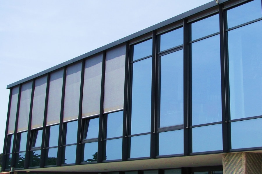 Aluminijasta Steklena Fasada 4 Pi-Modul