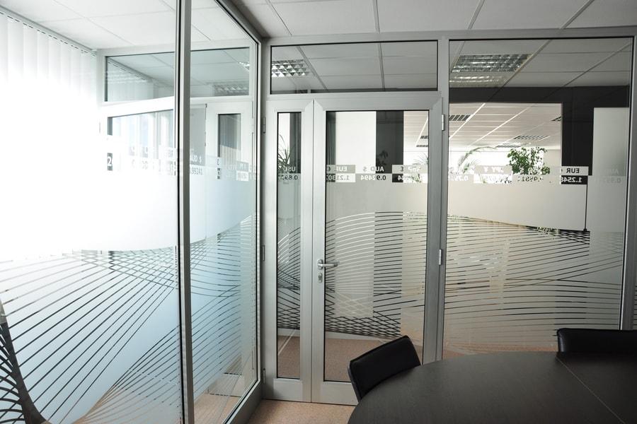 Aluminijaste Steklene Predelne Pregradne Stene 12 Pi-Modul
