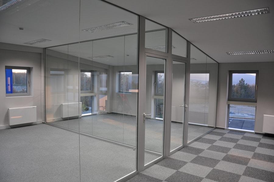 Aluminijaste Steklene Predelne Pregradne Stene 7 Pi-Modul