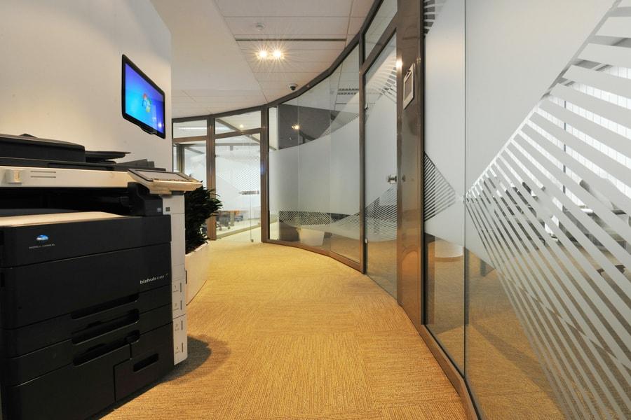 Aluminijaste Steklene Predelne Pregradne Stene 18 Pi-Modul