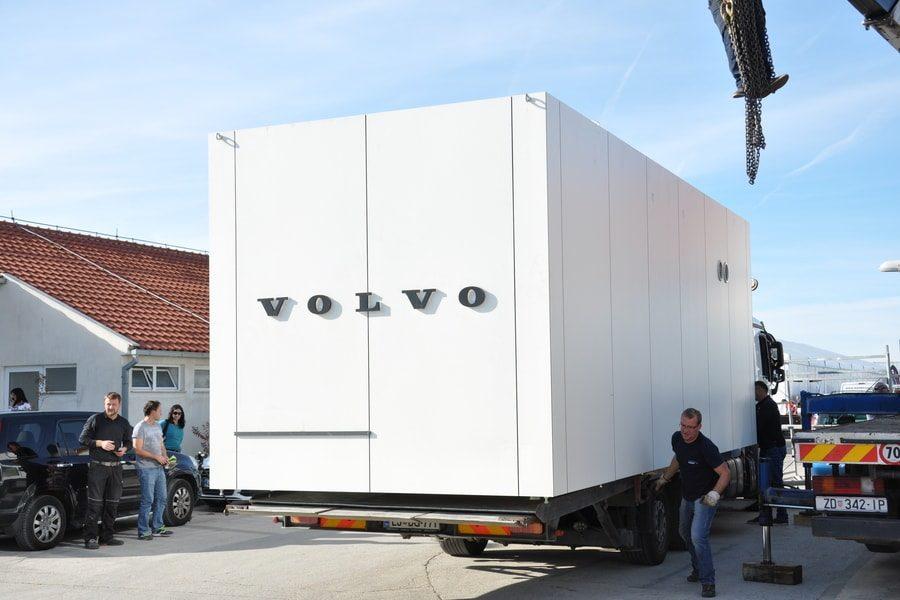 Poslovni Paviljon Mobilni Objekt Kontejner Pi-Modul
