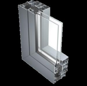Aluminijasto okno